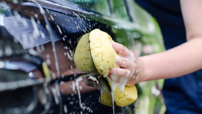 cuci mobil sebelum di Kirim