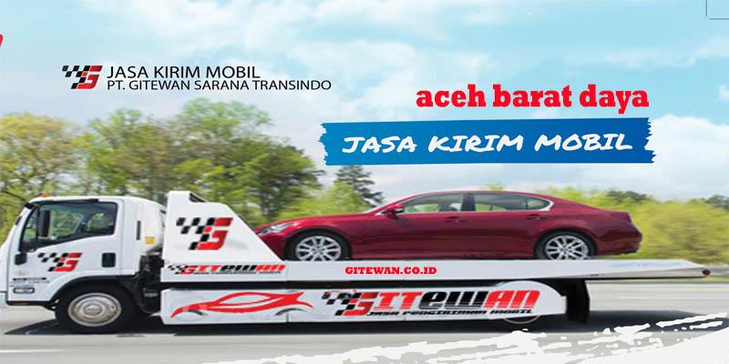 Jasa Kirim Mobil Aceh Barat Daya