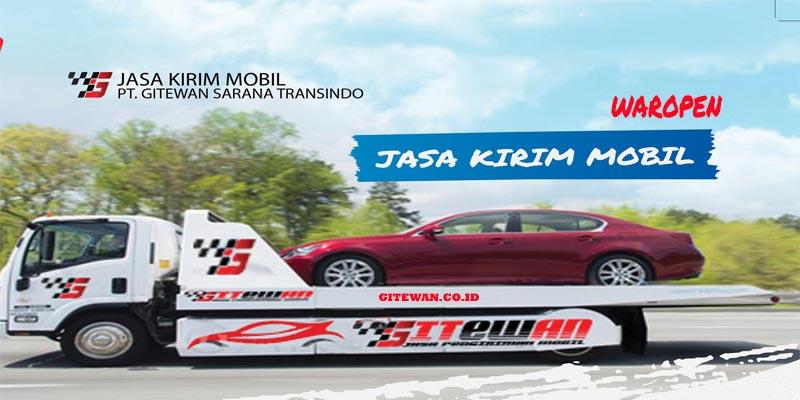 Jasa Kirim Mobil Waropen